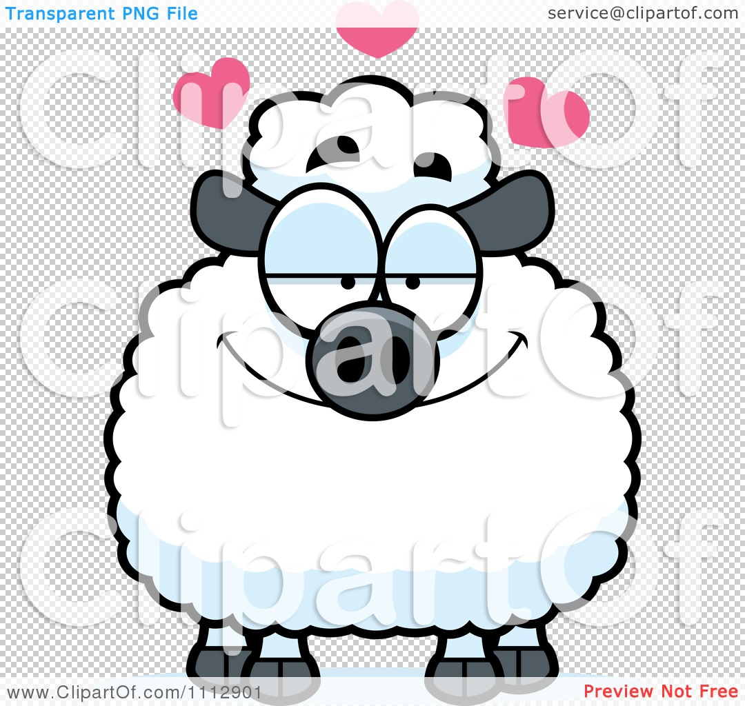 1080x1024 Baby Sheep Clipart