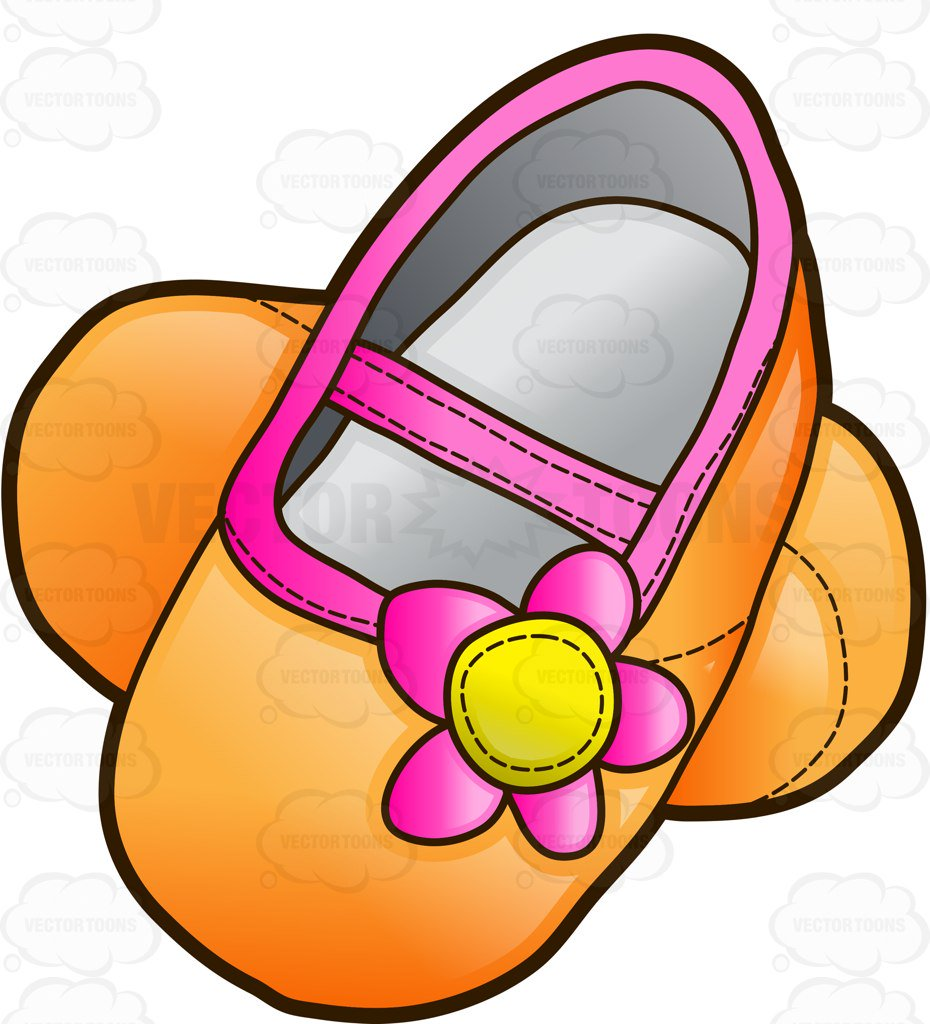 930x1024 Pretty Infant Shoes For Girls Cartoon Clipart