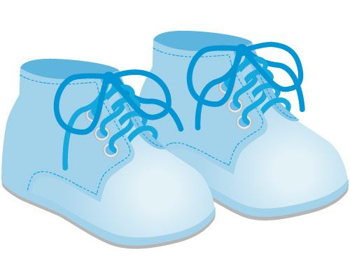 500x400 Sneakers Clipart Baby Shoe