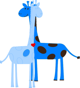 270x299 Boy Giraffe Baby Shower Clip Art