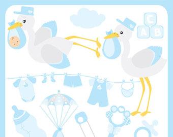 340x270 Stork Clipart Baby Shower