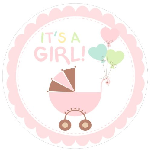 500x500 Baby Shower Its A Girl Free Clip Art Idee Clip Art
