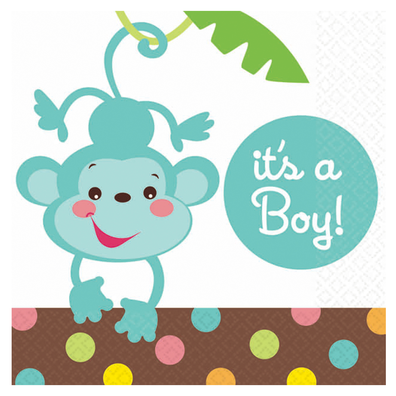 1600x1600 Baby Shower Monkey Clip Art