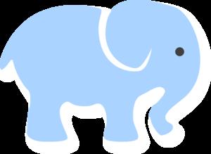 300x219 Blur Clipart Baby Elephant