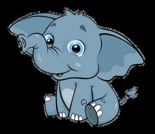 319x276 Cute Baby Elephant Clip Art Clipart Clipartix