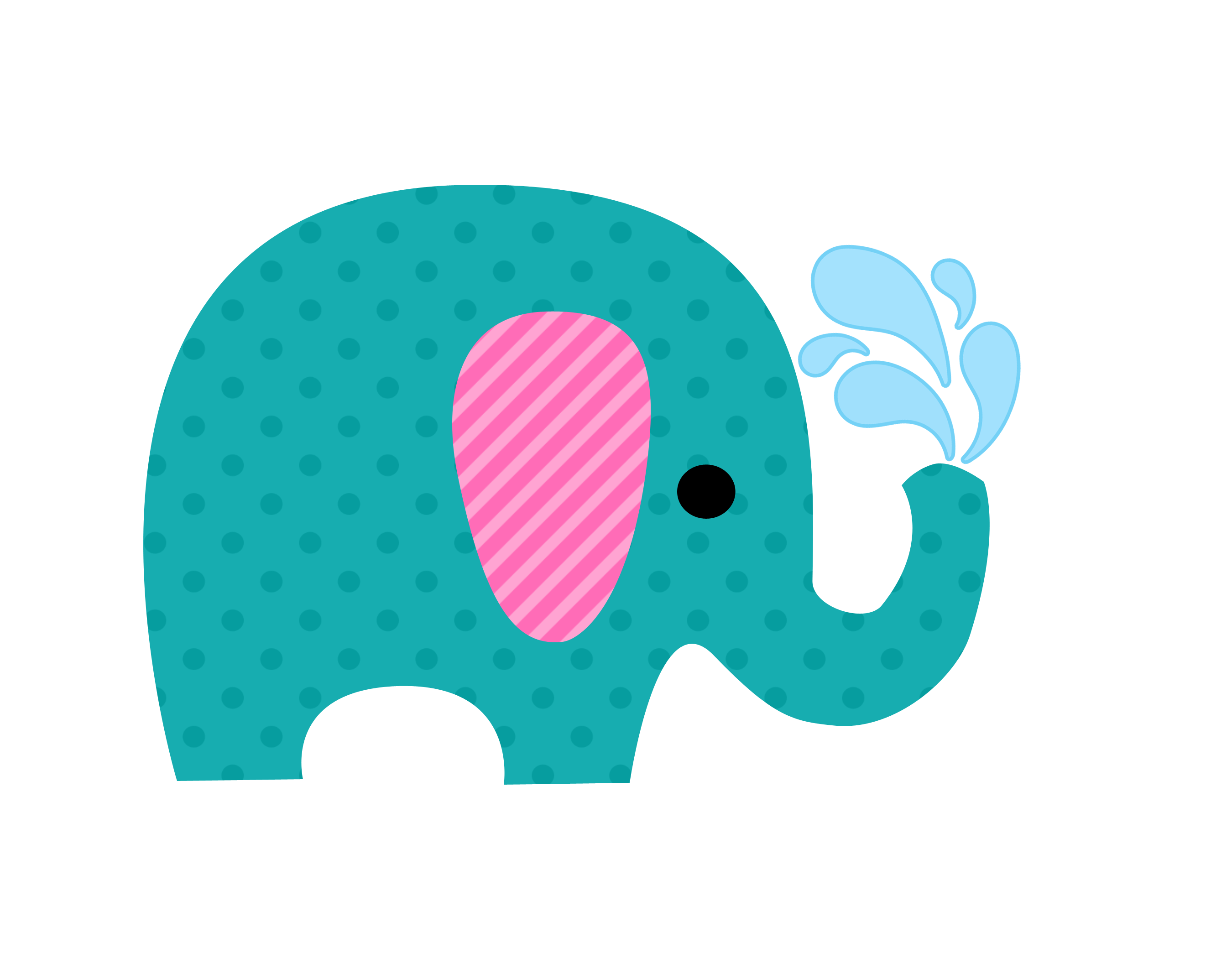 2700x2100 Baby Elephant Clipart Hali'A's Baby Shower Baby