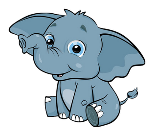 319x276 Baby Elephant Clipart Baby Shower 2