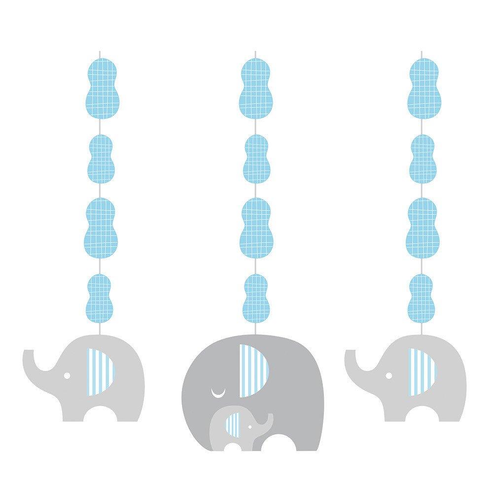 1000x1000 Little Peanut Blue Elephant Danglers [3pc] Babies, Elephant Baby