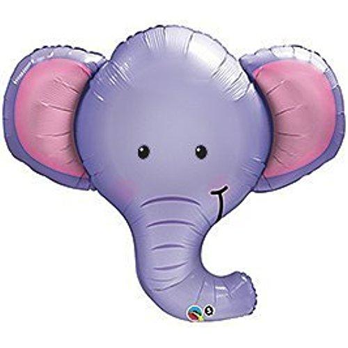 500x500 Purple Elephant Baby Shower