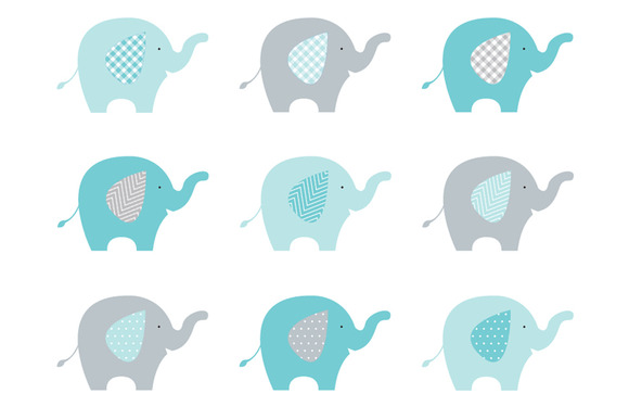 580x386 Baby Shower Elephant Clipart Boy