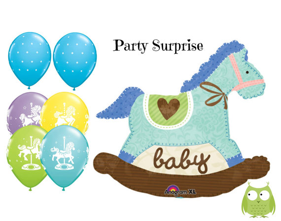 570x448 Baby Boy Balloons Baby Shower Shower Boy Balloons, It's A Boy