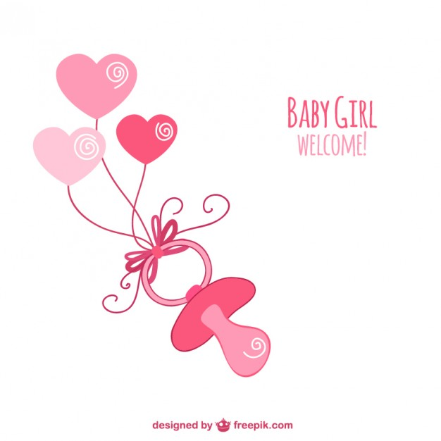 626x626 Baby Shower Girl Vectors, Photos And Psd Files Free Download