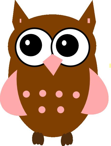 456x599 Pink Owl Clip Art Owls Printables Owl Clip Art