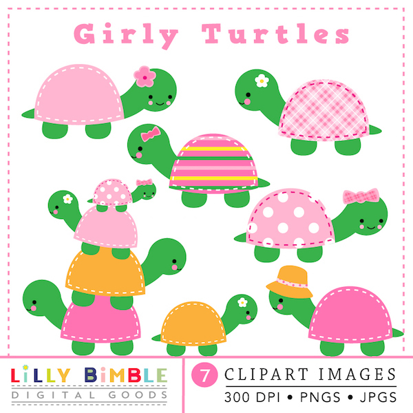 600x600 Baby Shower Turtle Clipart