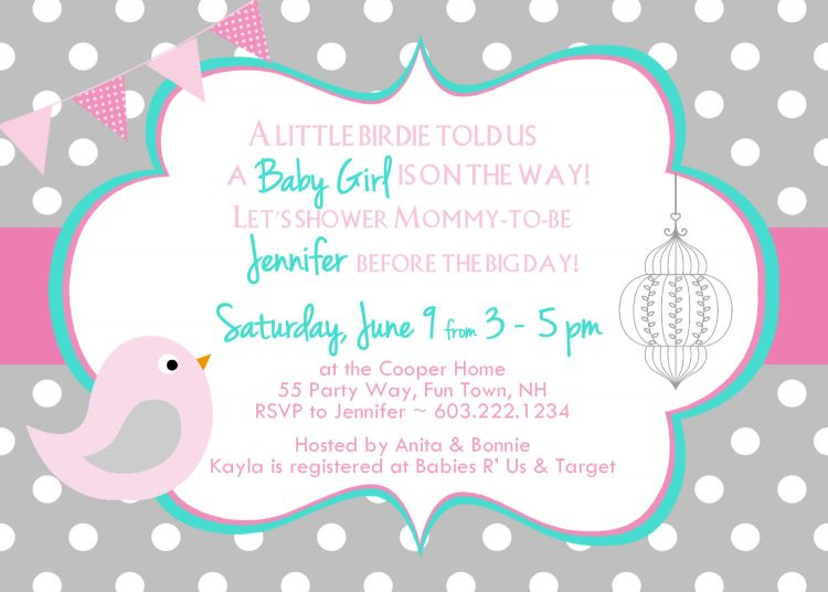 750x536 Colors Octopus Baby Shower Invitations Wording Together