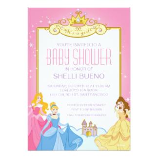 324x324 Disney Baby Shower Invitations Amp Announcements Zazzle