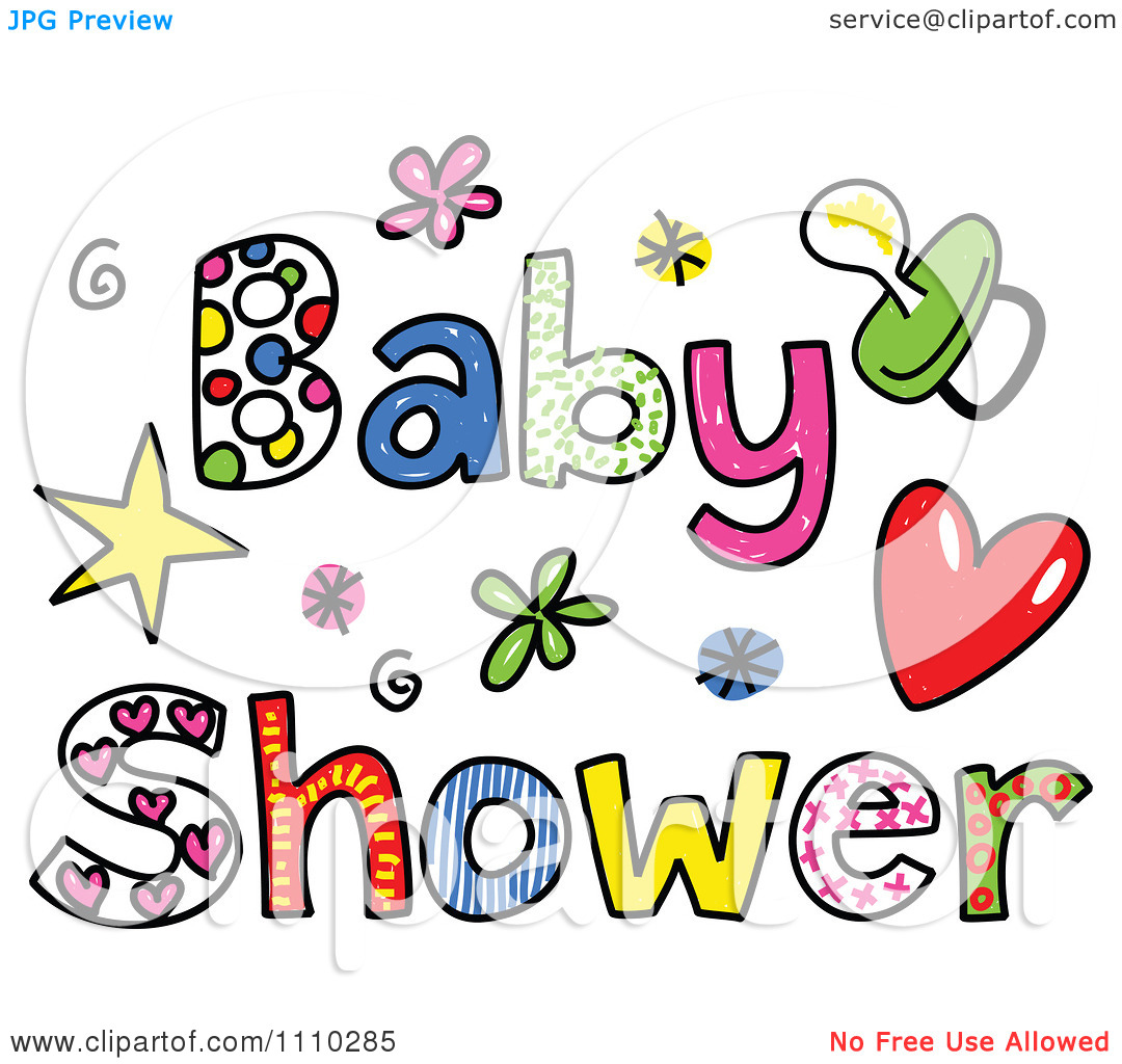 1080x1024 Free Baby Shower Clipart