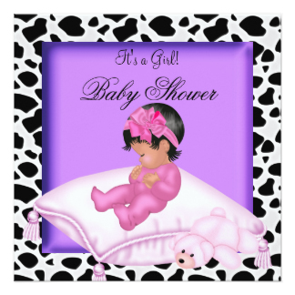 324x324 Girls Mexican Baby Shower Invitations Amp Announcements Zazzle