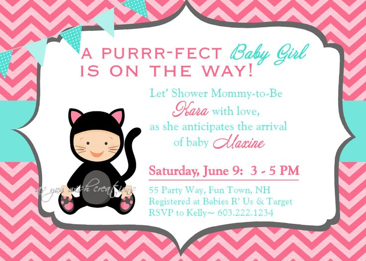 736x525 Glamorous Kitten Themed Baby Shower 69 For Your Baby Shower Gifts