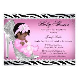 256x256 Zebra Baby Shower Invitations Babyshowerinvitations4u