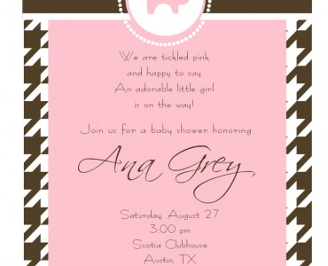 370x300 Baby Shower Invitation Wording For A Girl Baby Shower Invitation