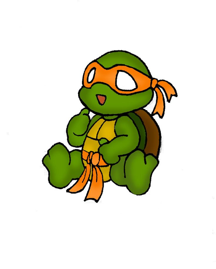 Baby Shower Turtle Clipart