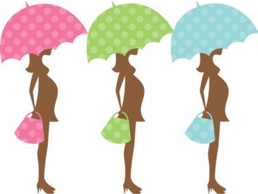 375x282 Clip Art Pregnant Woman Baby Shower Clipart