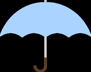 300x237 Turquoise Umbrella Clip Art