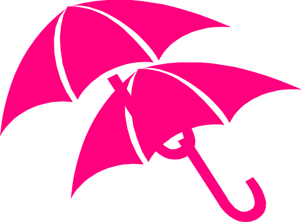 600x442 Umbrella Clip Art