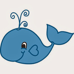 300x300 Baby Whale Clipart