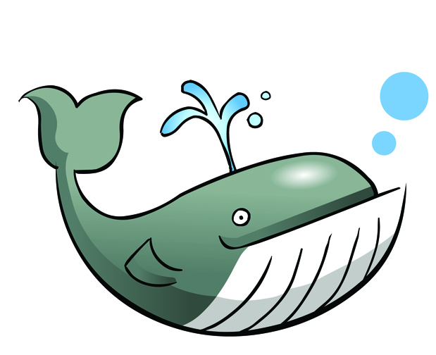 619x504 Mom And Baby Whale Clipart 8