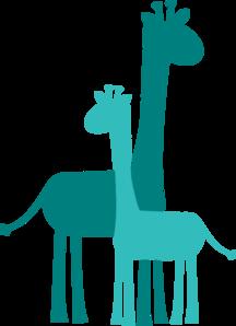 216x298 Baby Shower Giraffes Clip Art