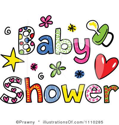 400x420 Baby Shower Word Clip Art