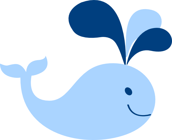 600x489 Blue Whale Clipart Baby Shower Whale