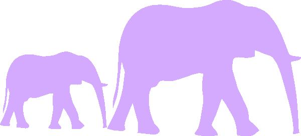 600x272 Purple Baby Shower Clip Art