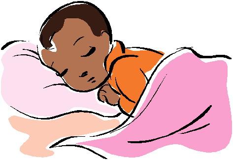 473x324 Sleeping Baby Clipart
