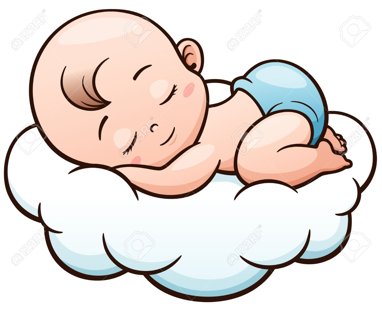 Baby Sleeping Clipart | Free download best Baby Sleeping ...