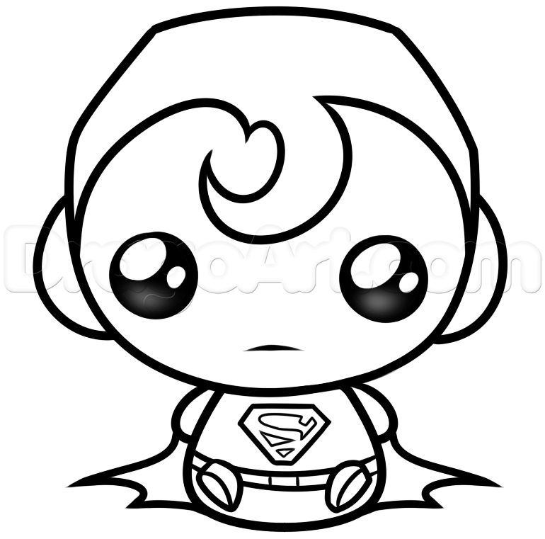 770x761 Kawaii Superman Cute Chibi Kawaii ness! (^ ^)