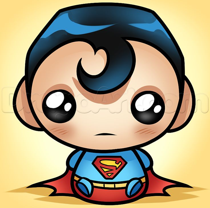 736x727 Superman clipart drawn