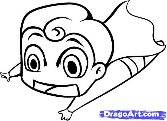 582x423 Baby Superman Drawing Clipart Panda
