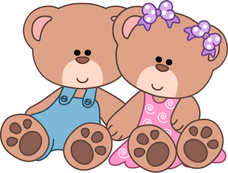 449x341 Cute Teddy Bear Clip Art Baby Girl