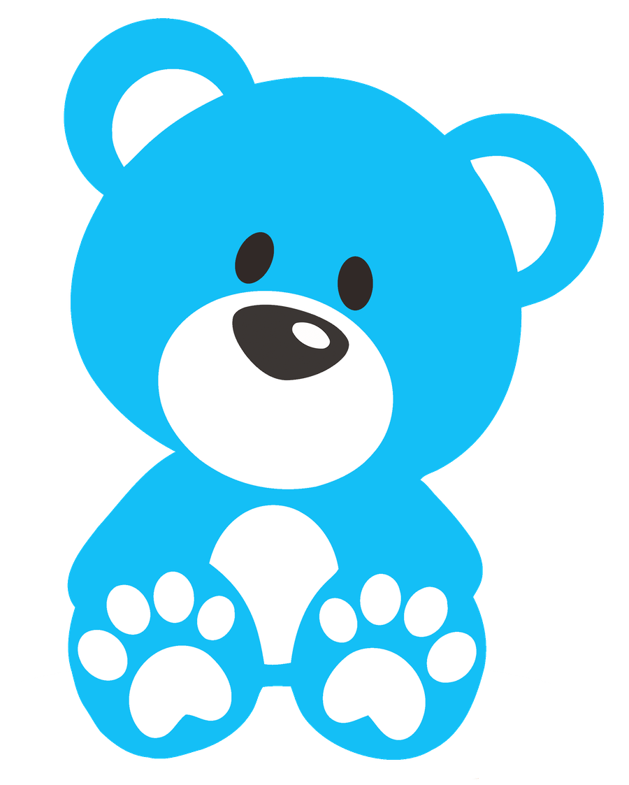 900x1123 Teddy Bear Clipart Stencil