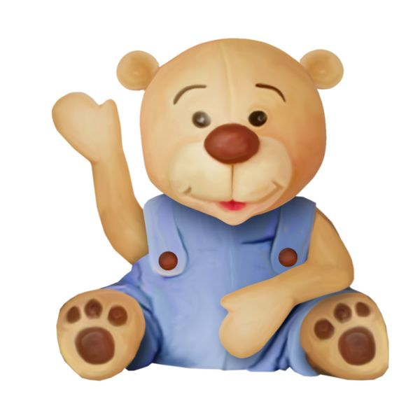 600x590 Teddy Clipart Kids Toy