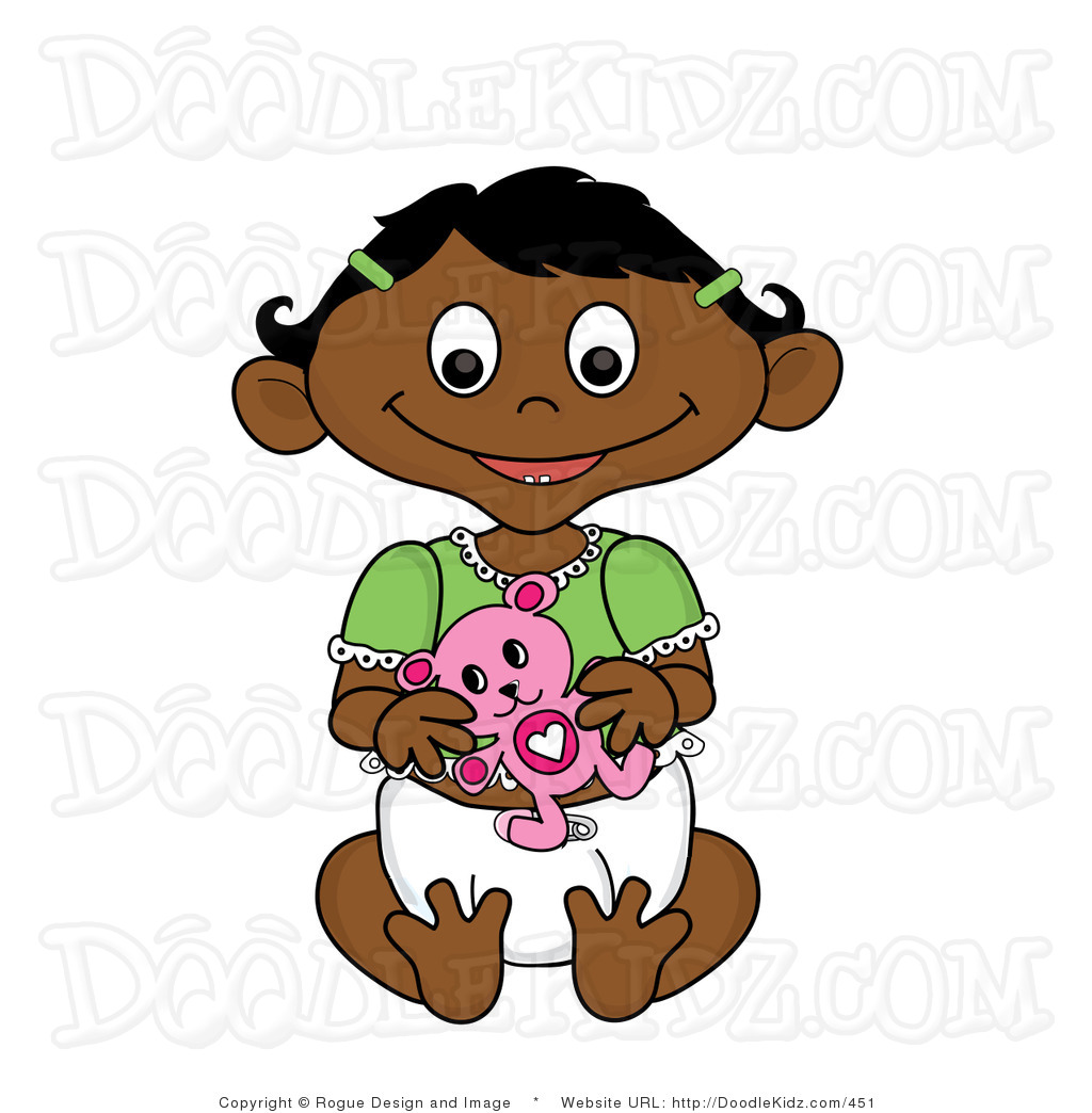 1024x1044 Belle Clipart Clip Art Illustration Of A Hispanic Baby Girl