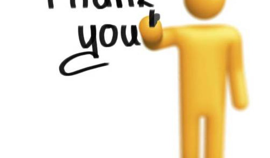 1024x600 Thank You Clipart Animated