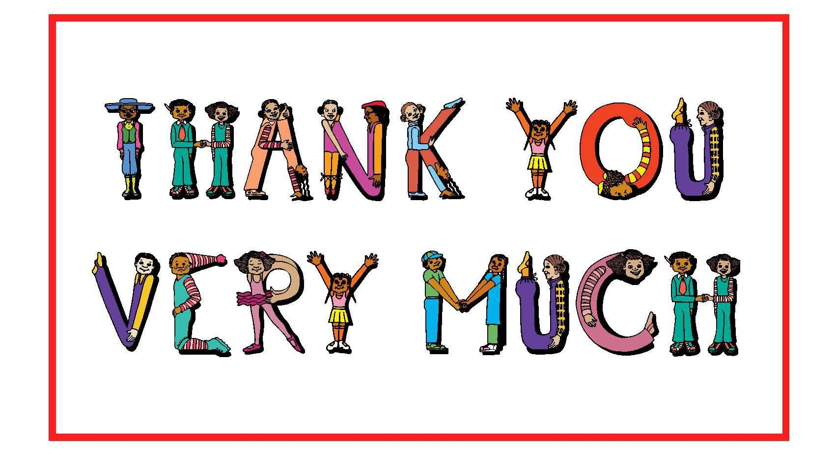 1700x950 Thank You Clipart Images