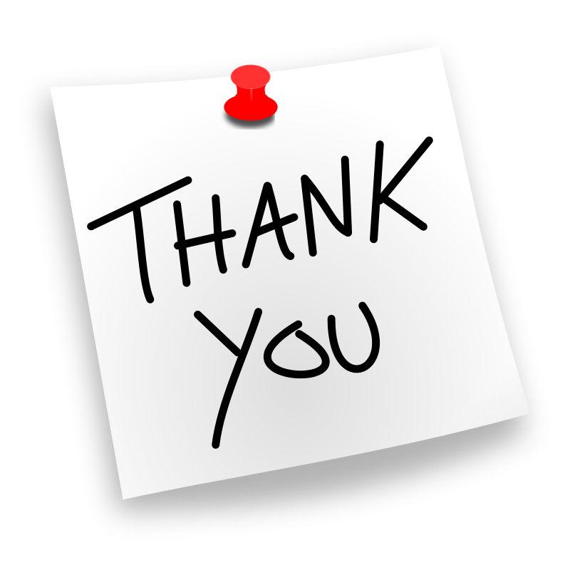 800x800 Thank You Clipart For Powerpoint Thank You Clip Art For Powerpoint