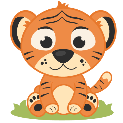 432x432 Baby Tiger Clipart 3