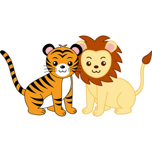 300x300 Baby Tiger Clipart Image