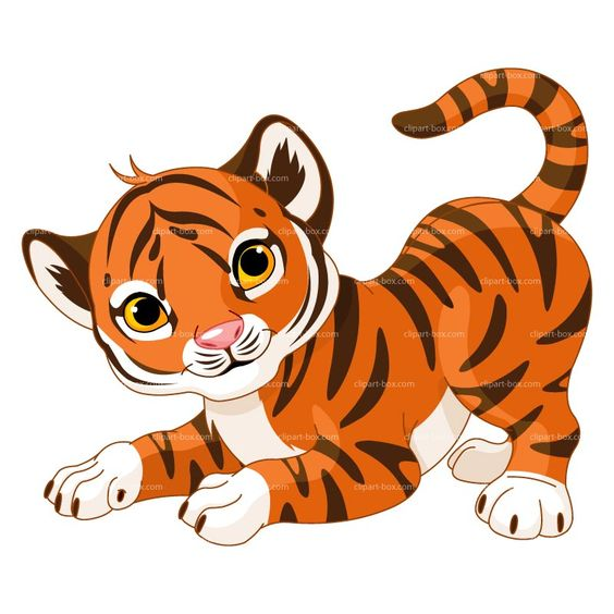564x564 Baby Tiger Critters Baby Tigers Tigers And Cat Clip Art Image